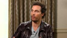No spoilers! Matthew McConaughey on 'Interstellar' cast's 'unsaid handshake'