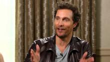 Matthew McConaughey: I like to find a selfish reason why I want to do everything