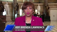 Rep. Brenda Lawrence discusses Donald Trumps immigration ban
