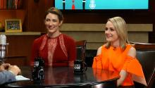 'Teachers' stars Katy Colloton & Katie O'Brien