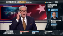 That Awkward Moment When You're Tom Brokaw And Your Phone Goes Off On Live Television And It Sounds Like A Bombing Raid Alarm