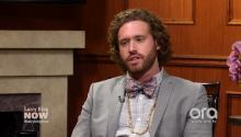 T.J. Miller on Trump: It's harrowing to watch