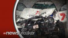 Australian Man Hijacks News Van, Crashes Into Gas Tank; All Caught on Tape