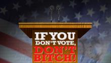 If You Don't Vote, Don't Bitch!
