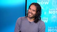 Russell Brand opens up about fatherhood