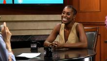 Issa Rae explains 'Broken Pussy' to Larry King