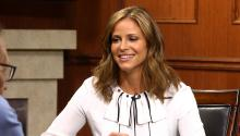 Andrea Savage shares 'Curb Your Enthusiasm' details