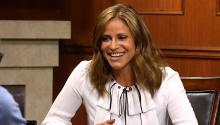 "Andrea Savage explains ""ass cubes"" to Larry King"