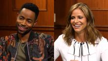 Jay Ellis & Andrea Savage on success and failure