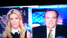 That Awkward Moment When You're A Fox News Anchor And You Call Mike Huckabee Mike F***abee