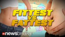 FITTEST vs. FATTEST: Gallup Poll Reveals Obesity Rates in US States and Major Cities