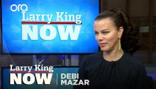 Debi Mazar on the night she met her friend Madonna