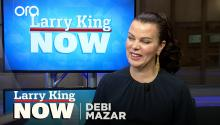 Debi Mazar talks the awkwardness of shooting a sex scene