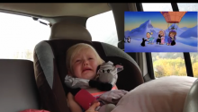 This Little Girl Getting Emotional While Watching The Chipmunks Adventure Has Literally Melted My Heart Into Heart Goo