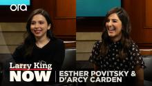D'Arcy Carden and Esther Povitsky on comedy and success