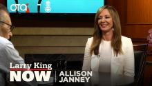 The character Allison Janney says she's most like