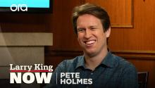 Pete Holmes on 'Crashing,' religion, & fame