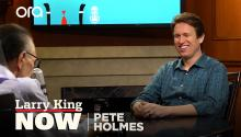Pete Holmes used to draw cartoons for 'The New Yorker'