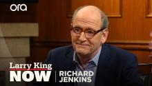 Was Richard Jenkins initially sold on 'The Shape of Water'?