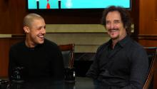 Sons of Anarchy: Theo Rossi & Kim Coates