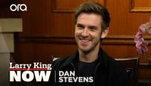Dan Stevens on 'Legion,' playing Beast, & Joan Collins