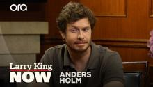 Anders Holm on relinquishing control on 'Champions'