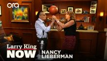 Larry King can spin a basketball on his finger