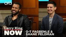 'The Handmaid's Tale' star O-T Fagbenle & 'Count Me In' founder Shane Feldman