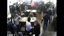 That Awkward Moment When You're Just Chilling In A Restaurant In Russia And 35 Masked Men Take It Over