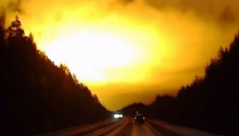 Mysterious Explosion in the Skies Over Russia's Sverdlovsk Region