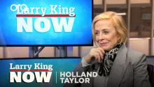 Holland Taylor on Sarah Paulson, Charlie Sheen, & success