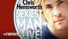 Chris Hemsworth Named Sexiest Man Alive by People Magazine