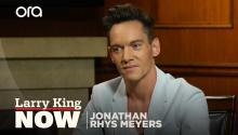 Jonathan Rhys Meyers slept next to Elvis's grave
