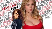 Scarlett Johanssen gets violent