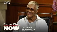 Dionne Warwick & Larry King reminisce about Frank Sinatra