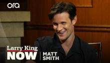 Matt Smith reveals strange fan encounter on the set of 'Doctor Who'