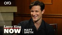 Matt Smith talks Emmy nomination, first female 'Doctor Who,' & unequal pay in Hollywood
