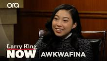 Awkwafina on her alternative career path -- and her real name