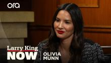 "Olivia Munn says there is no ""second chance"" when you hurt children or animals"