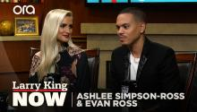 Ashlee Simpson-Ross's first meeting with Diana Ross