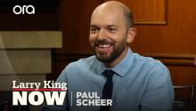 Paul Scheer loved working with Chance the Rapper