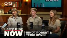 "Terri, Bindi and Robert Irwin on their new show, Steve's legacy, and the meaning behind ""Crikey"""