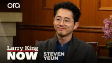 Steven Yeun on Asian representation in Hollywood, 'The Walking Dead', & fatherhood