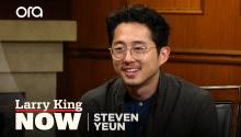 Steven Yeun on Andrew Lincoln's departure from 'The Walking Dead'