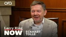 Eckhart Tolle on living in the now, the mind-body connection & social media