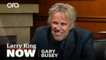 Gary Busey has met angels