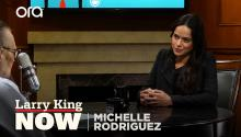 """I think it's beautiful"": Michelle Rodriguez shares optimism about current political climate"