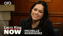 Michelle Rodriguez on how Trump's election helped change female representation