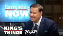 Veteran journalist Marvin Scott on Martin Luther King Jr., 9/11, & his favorite president
