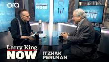 Itzhak Perlman on receiving a Presidential Medal of Freedom from Obama
